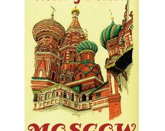 MOSCOW 1S- Handmade Leather Photo Album - Travel Art