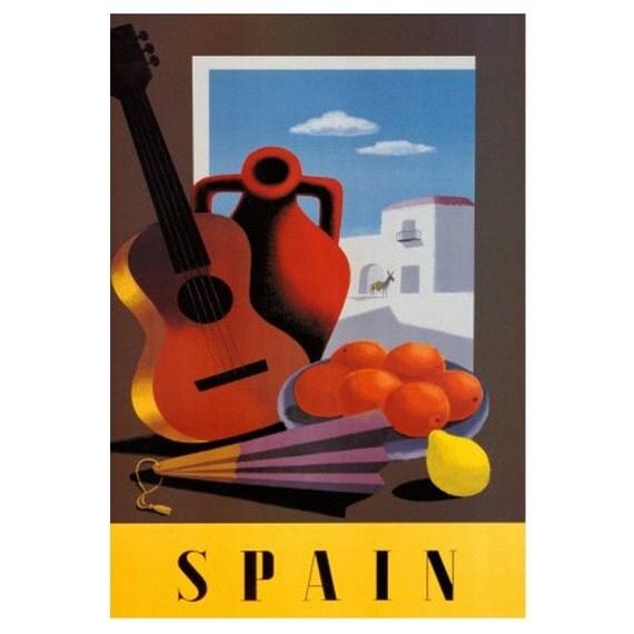 SPAIN 7S- Handmade Leather Photo Album - Travel Art