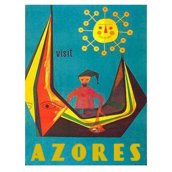 AZORES 2S- Handmade Leather Photo Album - Travel Art