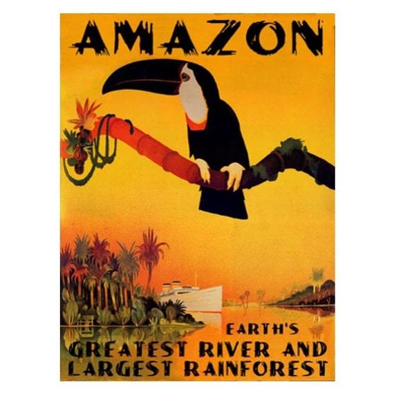 AMAZON 1S- Handmade Leather Photo Album - Travel Art