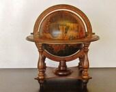 Italian Old World Globe in Stand