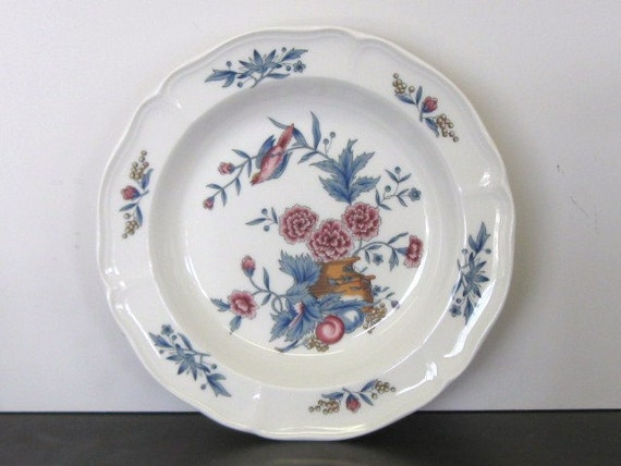 Wedgwood  Soup Bowls, Chinoiserie