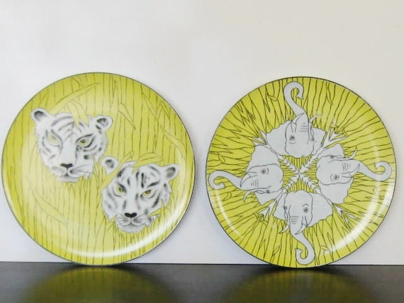 Palm Beach Villa Vanilla Plates, Taste Setter Collection by Franci