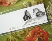 You are my all-weather friend BOOKMARK in pink
