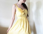 Reserved for likelimeade - Sunflower Dress