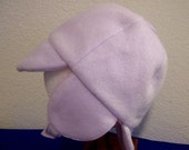 Fleece Hat - Lavender with Ear Flaps - 6-12 months
