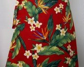 Wrap Around Skirt - Birds of Paradise