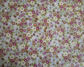 Fat Quarter - Tiny Flowers on Powder Blue