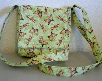 Insulated Sandwich Pouch - Butterflies & Dragonflies