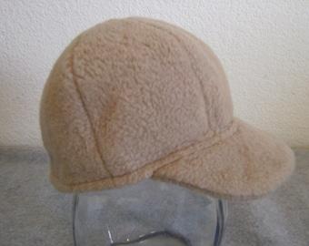 Fleece Ballcap - Tan - Small 0-6 months