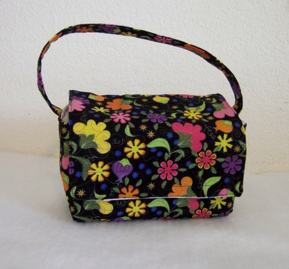 Insulated Lunch Bag - Pretty Flowers