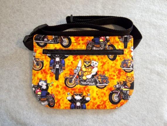 Hip Bag - Biker Kitties