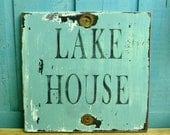 LAKE HOUSE Sign Beach House Wall Art Decor