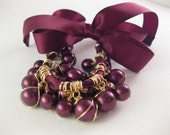 Baubles and Satin Ribbon Necklace