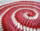 Cat Blanket/Bed Swirl of Cream and Berries Cotton