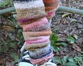 Leg Warmers Hand Knit Leggings