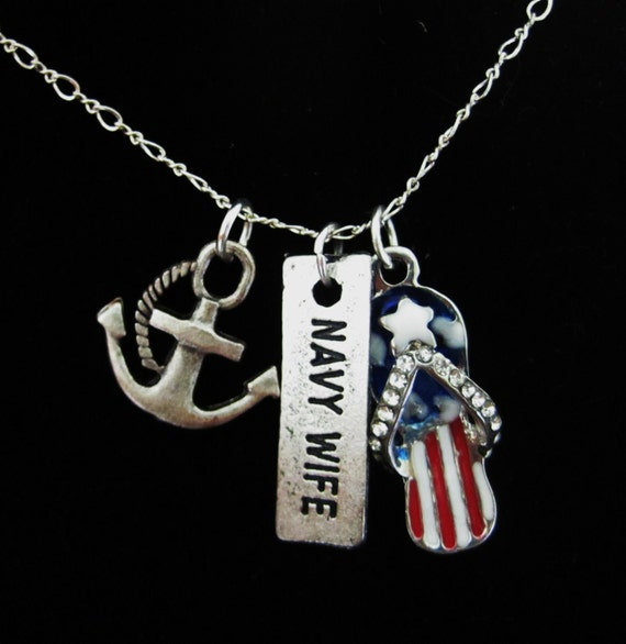 Navy Wife pendant/necklace