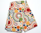 Baby Changing Pad with Flannel in Circles and Dots