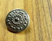 Pewter button, traditional button from Norway