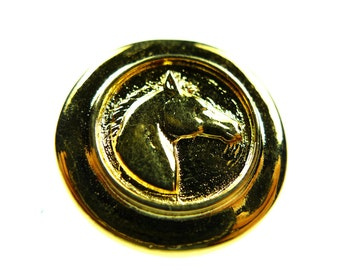 Buttons, horse head