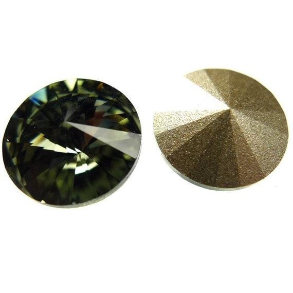 Swarovski Elements rivoli 1122 stones 2pc