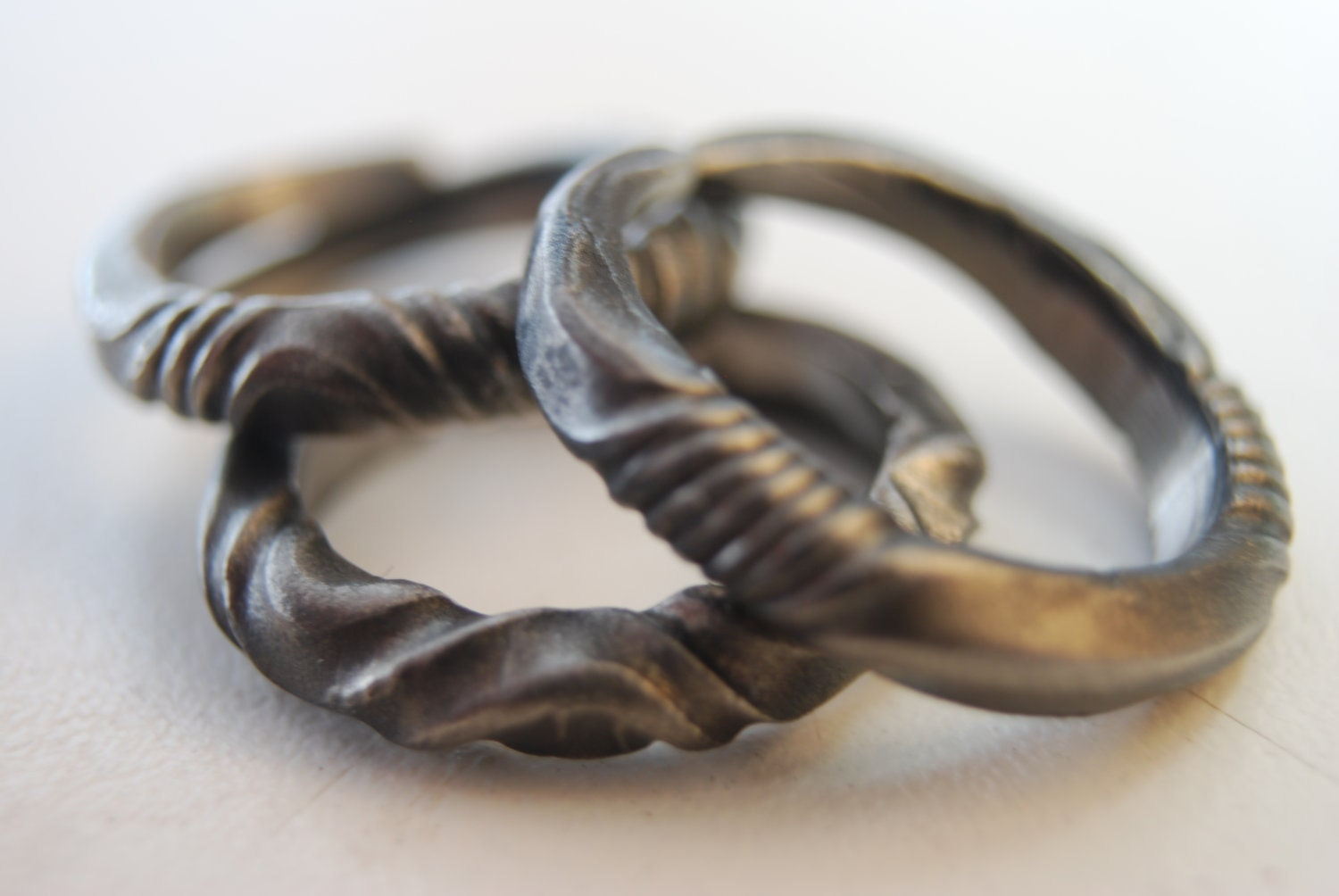 Forged Iron Wedding Ring