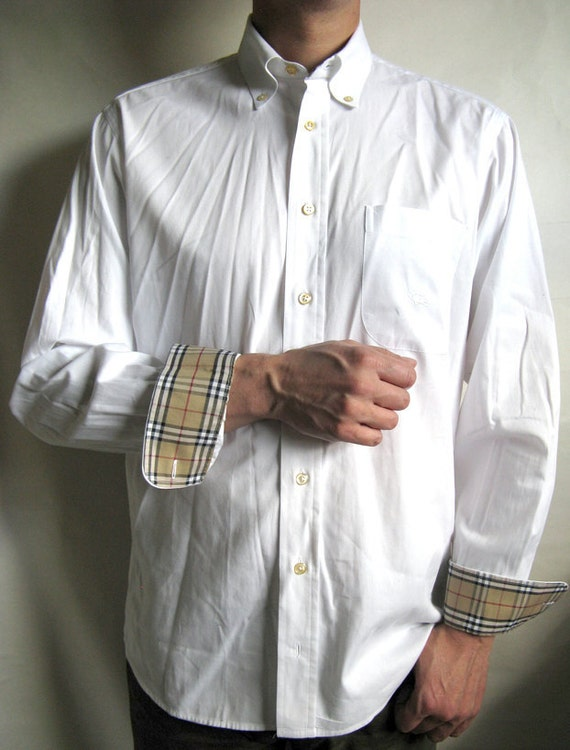 Mens Pin Collar Shirt