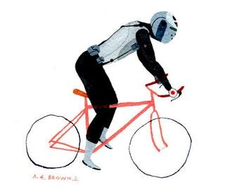MW ultrawolf bicycle .  Doom Division . print