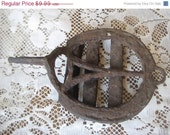 Birthday Sale Antique Old Rusty Rustic Boot Scraper