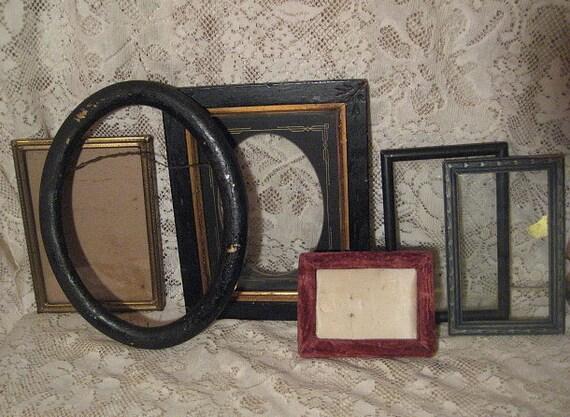 6 Antique and Vintage Frames