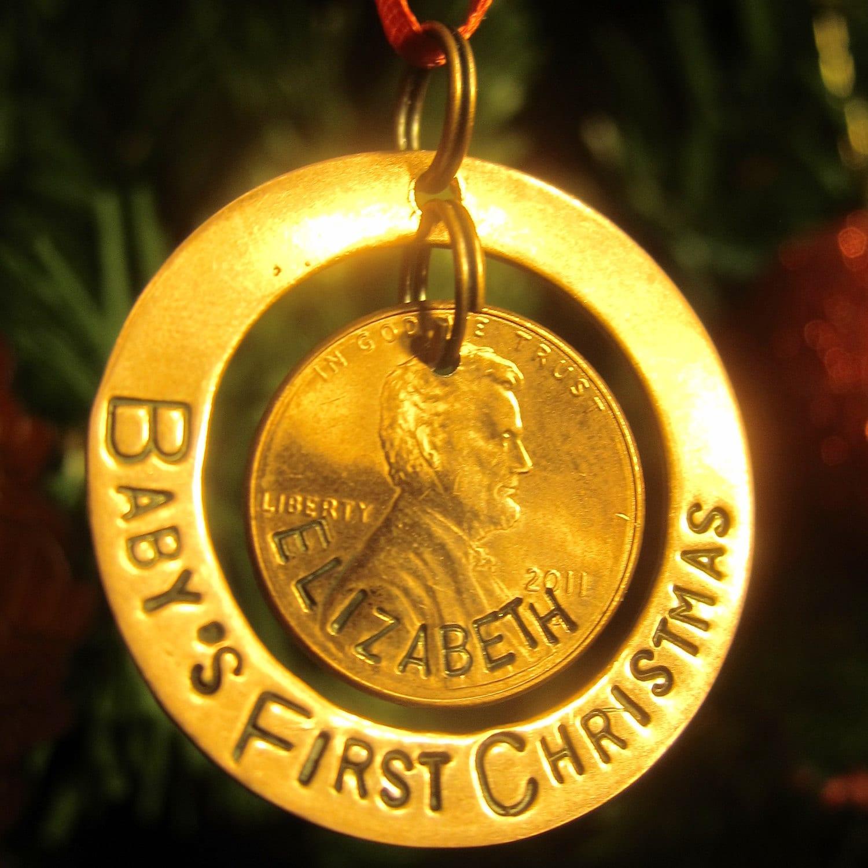 Baby Boy 1st Christmas Ornament