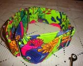"Martingale Collar 2"" - Neon Fish"