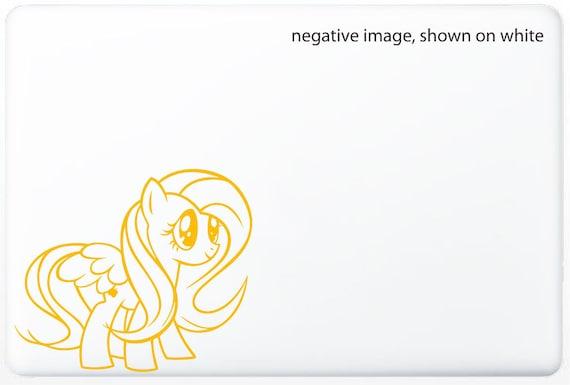 My Little Pony Fluttershy Modern Laptop Skin - Vinyl Sticker