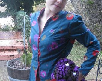 60s Cherries Suit Dress
