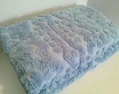 Pair of Large Chenille Euro Shams