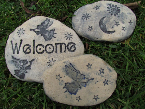 Personalized Stepping Stones Custom Engraved Garden Stone By Ask Home Design
