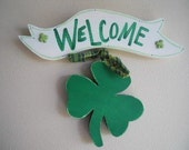 St. Patricks Irish Welcome Sign