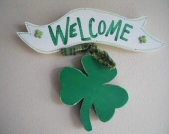 St. Patricks Irish Welcome Sign