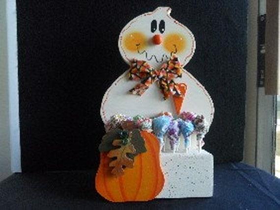 Halloween Ghost Lollipop Holder
