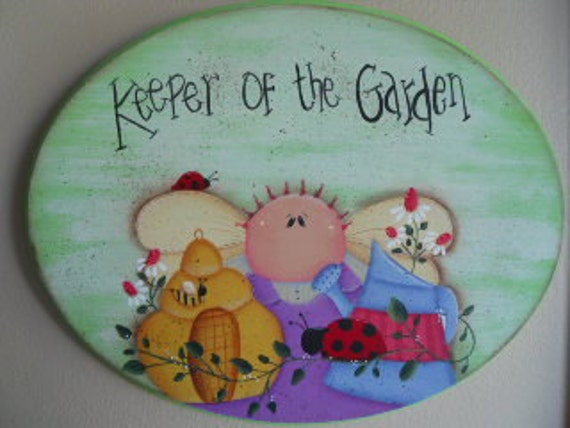 RESERVED Keeper of the Garden Plaque FAFOFG