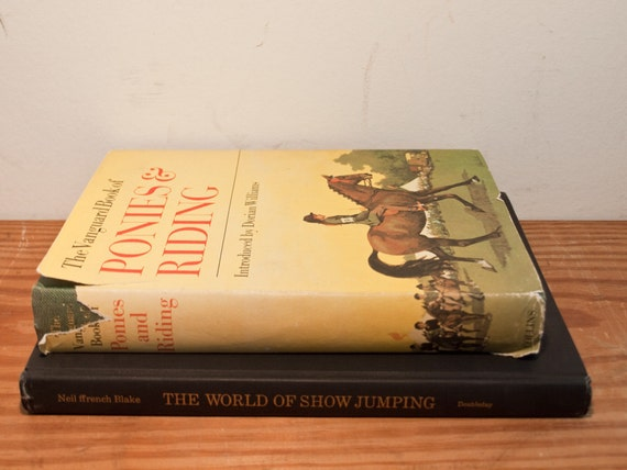 Vintage Equestrian Book Collection