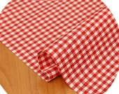 laminated  4mm check cotton 1yard (44 x 36 inches) 32372
