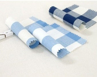 3cm check (gingham) cotton 1yard (44 x 36inches) 9340
