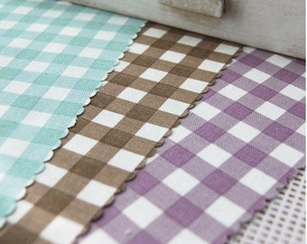 oxford cotton 1cm check 1yard (44 x 36inches) 6803