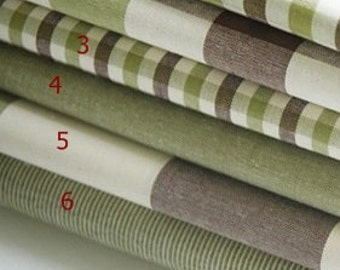 cotton 1yard (44 x 36 inches) 23848 olive and brown mixed