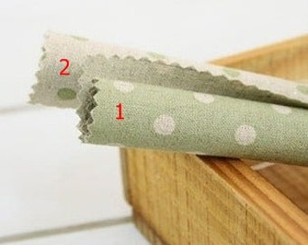 wide linen cotton 6mm dot 1yard (55 x 36 inches) 14957-2