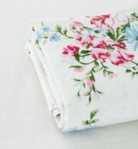 wide washing  linen cotton blended 1yard (59 x 36 inches) 9848