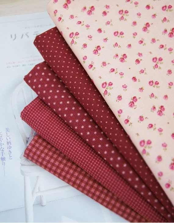 red wine cotton package (5EA) 21932