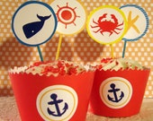Nautical Printable Party Theme