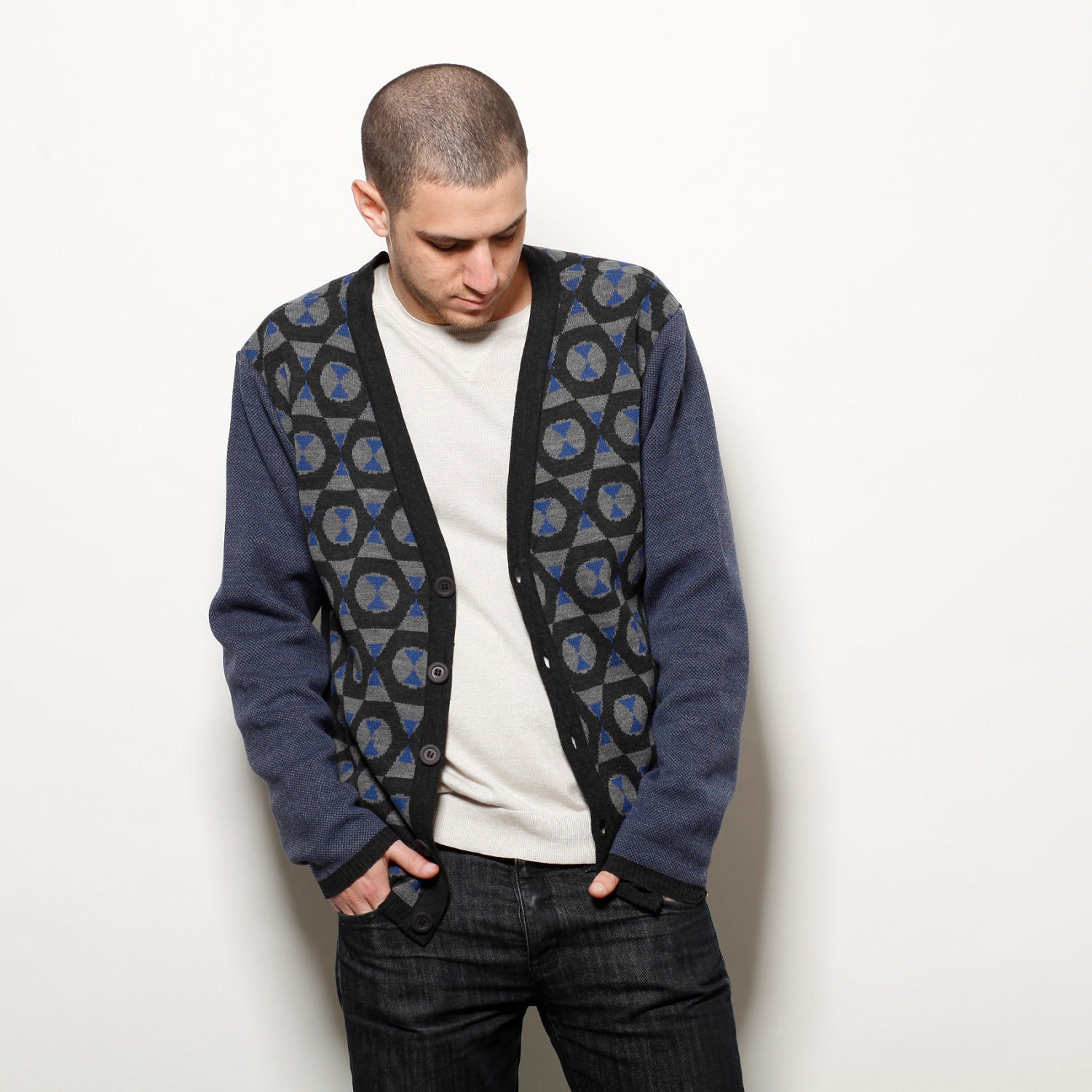 Free shipping and returns on Men's Blue Cardigans at gehedoruqigimate.ml